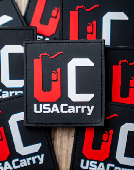 USA Carry PVC Patch
