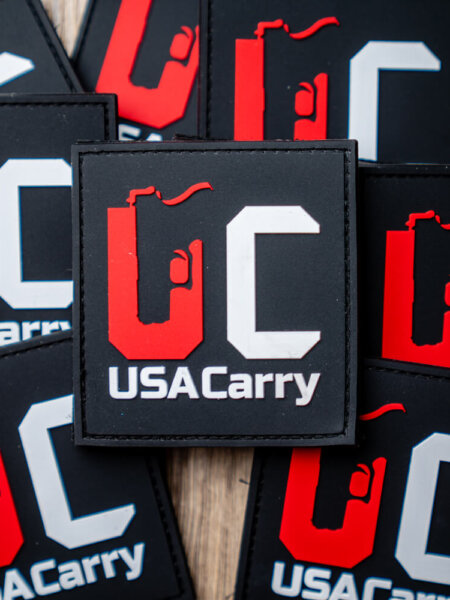 USA Carry PVC Patch