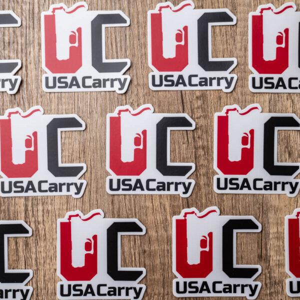 USA Carry Sticker